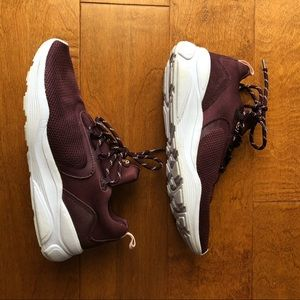 Champion Shoes - Champion Exert Knit Athletic Sneakers Burgundy